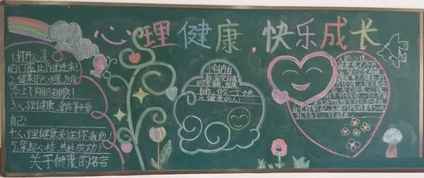 小学健康教育黑板报内容,你健康我快乐