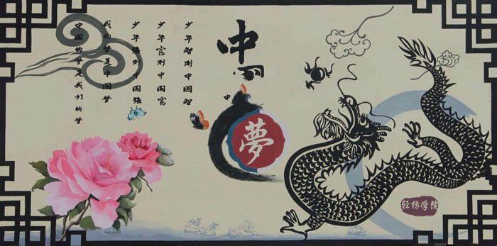 我的中国梦墙报图片,中国梦