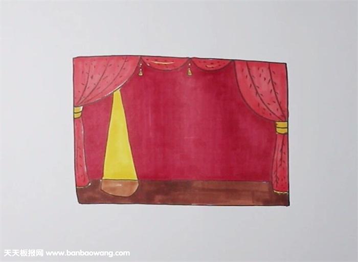 舞台简笔画