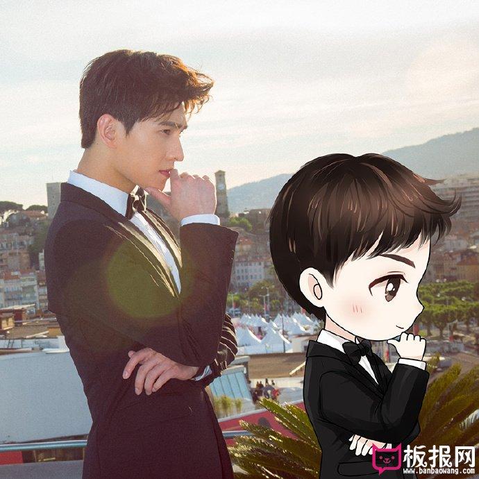 杨洋Q版萌图片大全,漫画中走出来的美少年