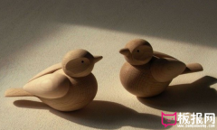 日式木质摆件,创意简约的漂流木摆件