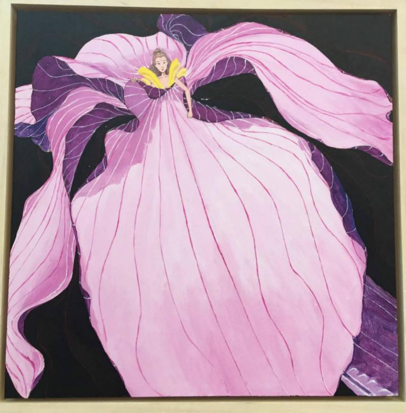 好看的花卉图案,现代装饰画