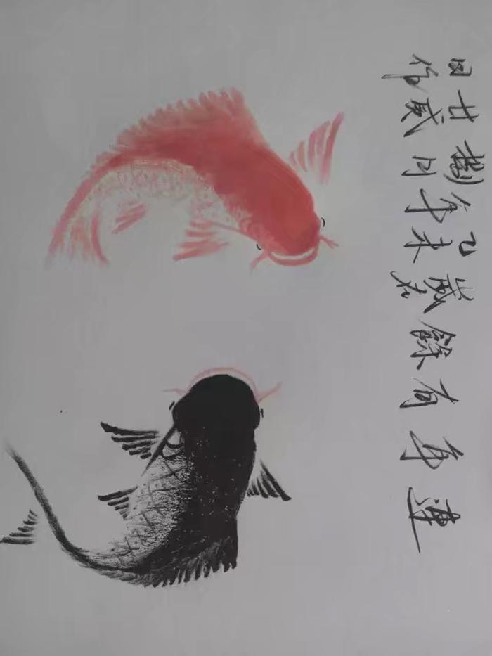 精美的水墨画图片,秃鹫
