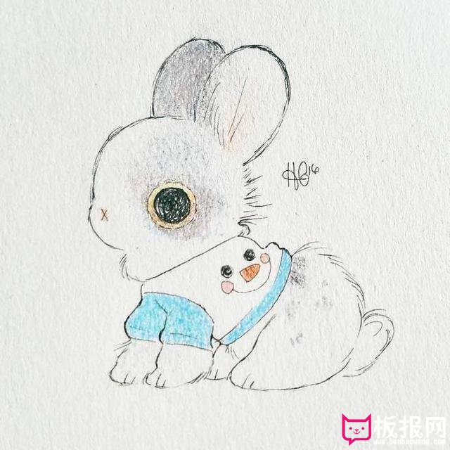 超可爱的萌图高清图片,软萌的小兔子
