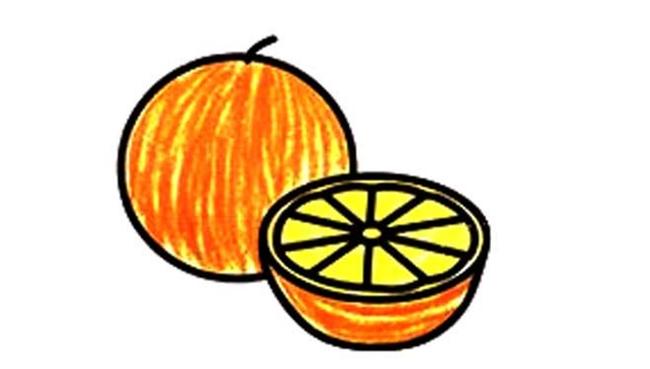 胡萝卜简笔画图片,胡萝卜的画法