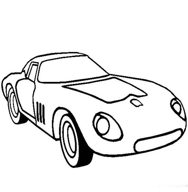 面包车简笔画图片