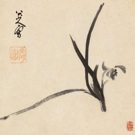 国画梅花图,中国画欣赏