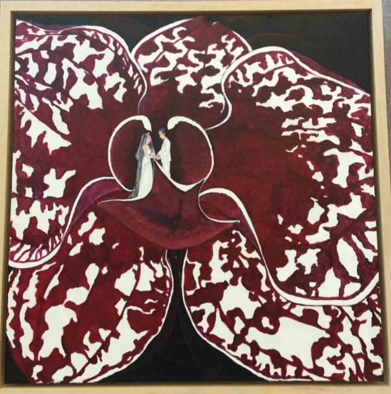 手绘装饰画,客厅装饰画图片