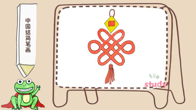 关于春节的简笔画彩色,以新年为主题的简笔画素材