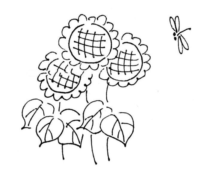 盆栽植物简笔画大全带颜色,超可爱的小盆栽简笔画