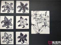 好看漂亮的花卉图案设计,图案素材