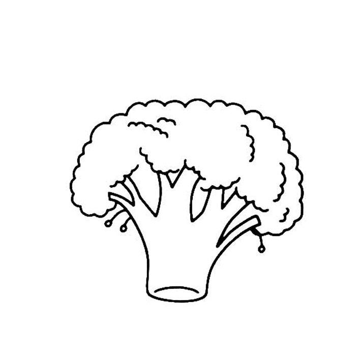 简单的菠萝简笔画