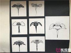 七种鱼图案素材,图案设计