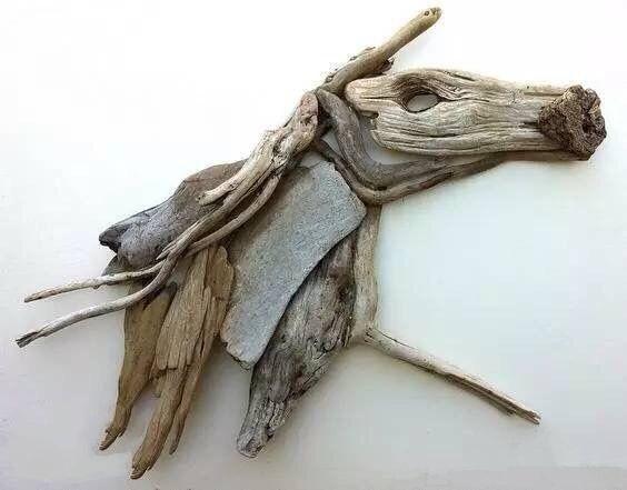 手工创意木器,木质天鹅小勺
