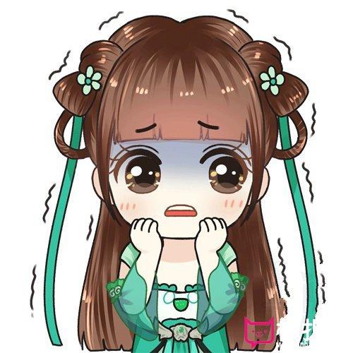 赵丽颖q版萌图大全,超可爱的碧瑶表情包系列