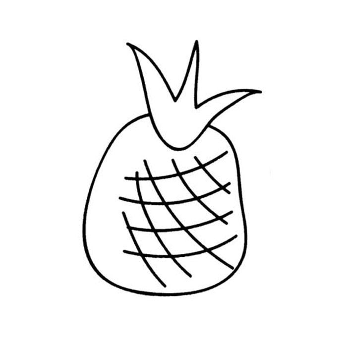 简单的西红柿简笔画