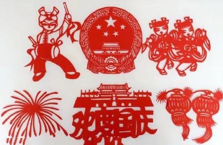中秋节传统绘画插图,嫦娥奔月