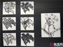 好看的花卉图案素材,图案设计
