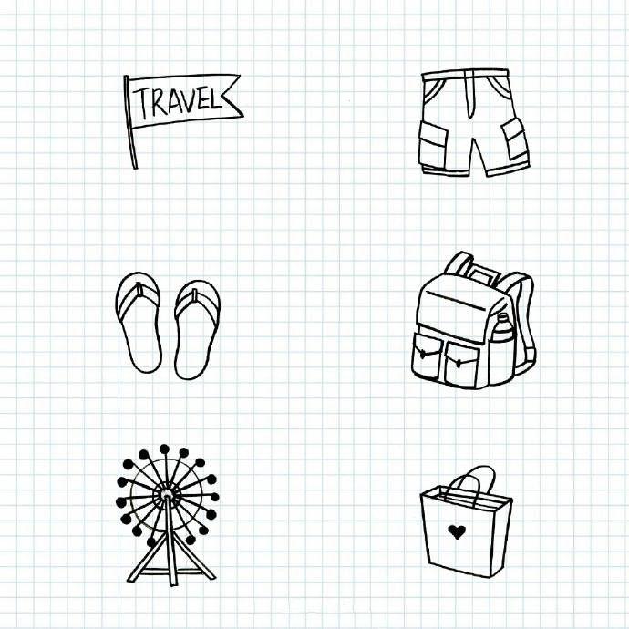 旅行手账怎么做,日本旅行手帐排版设计