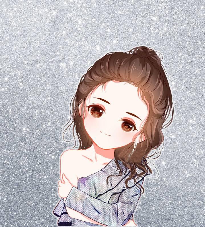 超甜小美好卡通情侣头像,江辰陈小希情侣头像