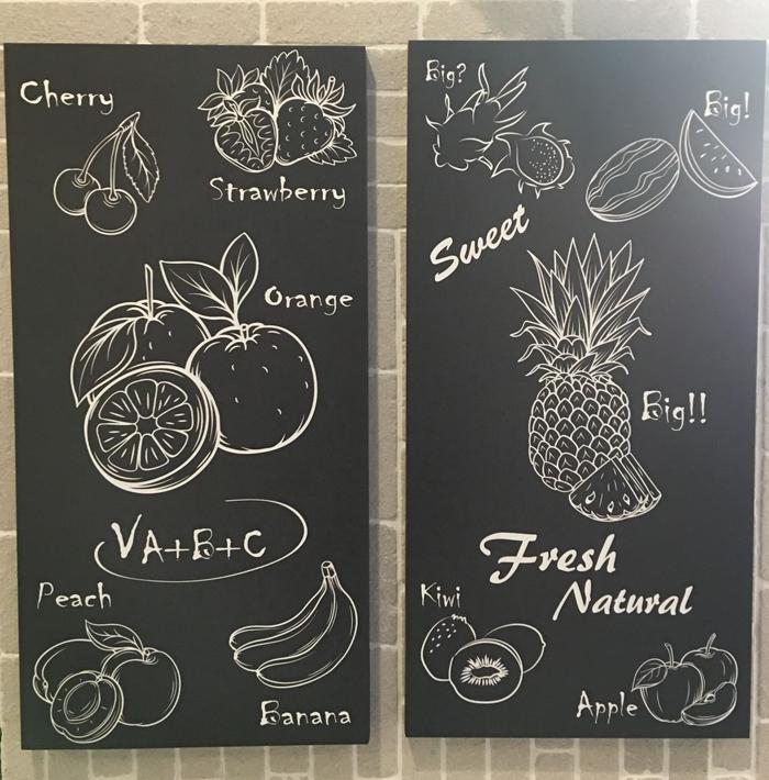 法式炒冰店活动小黑板设计,十元换购