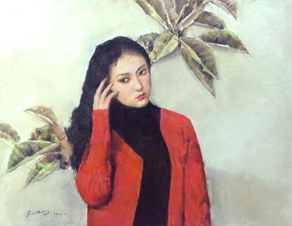 郭北平油画作品欣赏,郭北平油画人物