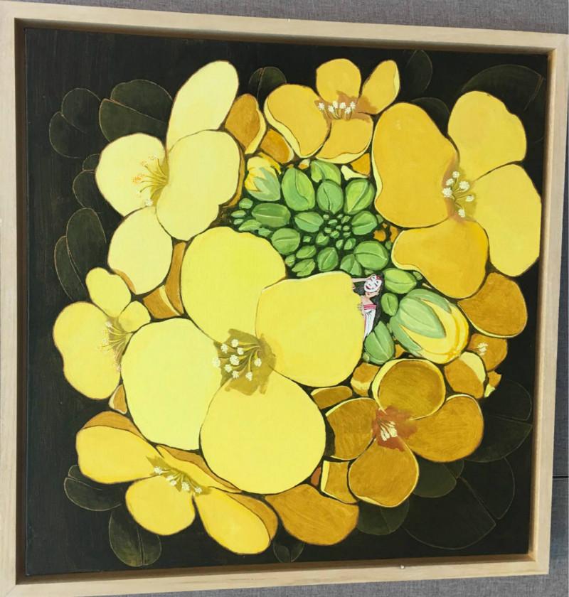 花卉图案,客厅装饰画图片