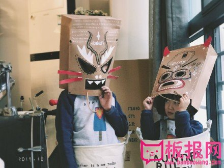 创意万圣节手工面具,不一样的万圣节