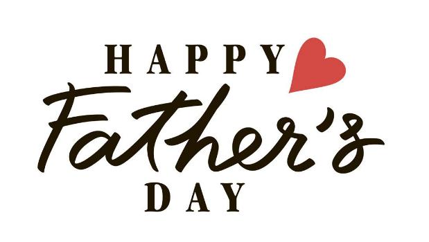 父亲节艺术字体设计