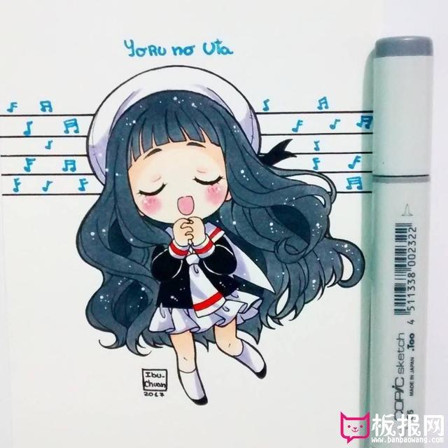 高清q版人物萌图大全,萌萌哒的小姐姐