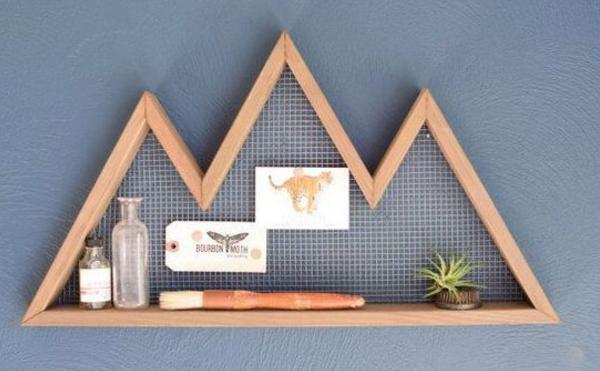 自制简约一式纸卷架,现代木工DIY