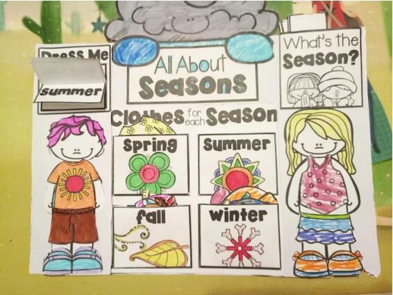 儿童创意手工笔记小书,动物栖息地