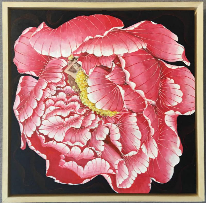 花卉图案装饰,现代装饰画