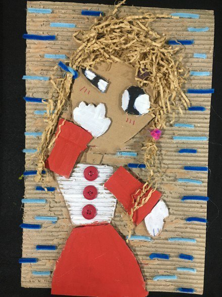 儿童废物利用创意手工,猫头鹰石头画