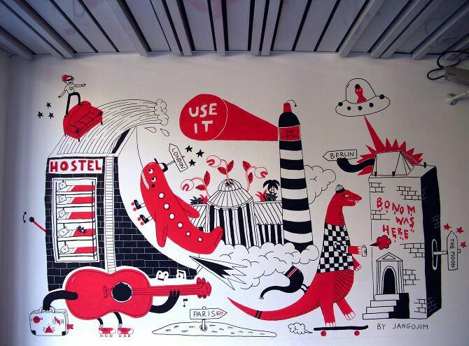 幼儿园装饰画图片,有趣的动物