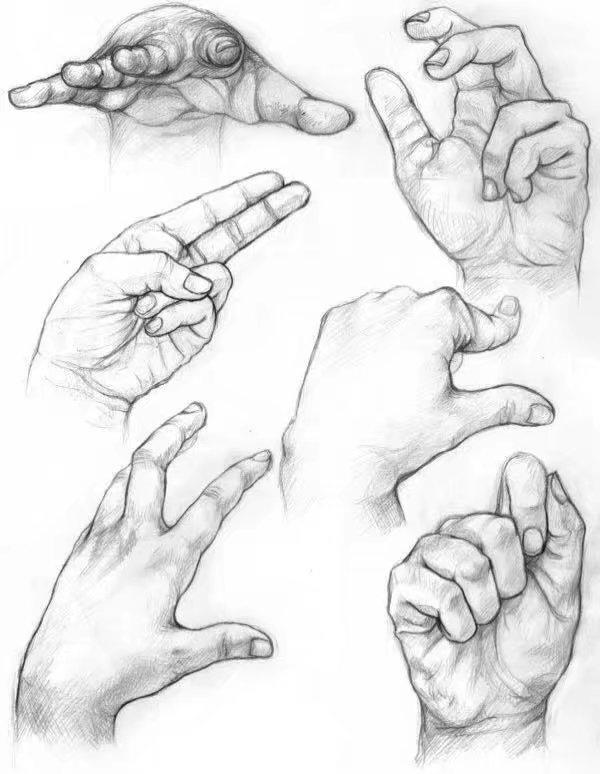 石膏几何体素描图片,各种简单的几何体素描