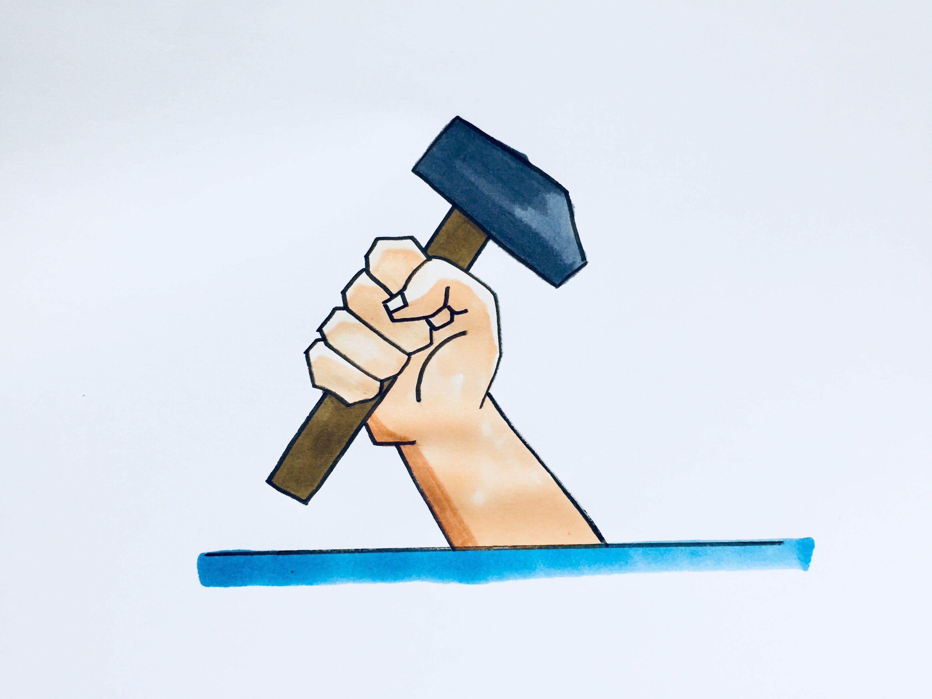 51劳动节简笔画,劳动节图片儿童画