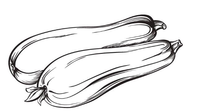 创意果蔬简笔画,鸭梨简笔画