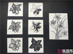 花卉图案设计,装饰图案
