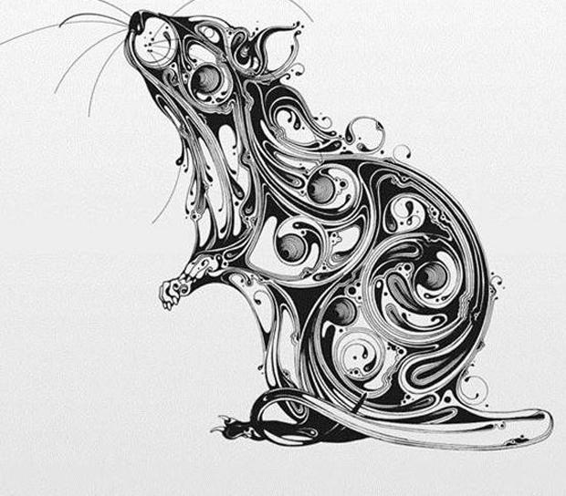 现代鱼嬉水装饰画,年年有余