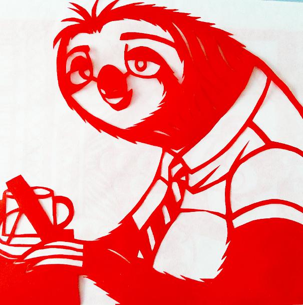 十二生肖剪纸图案大全,生肖剪纸狗的图片