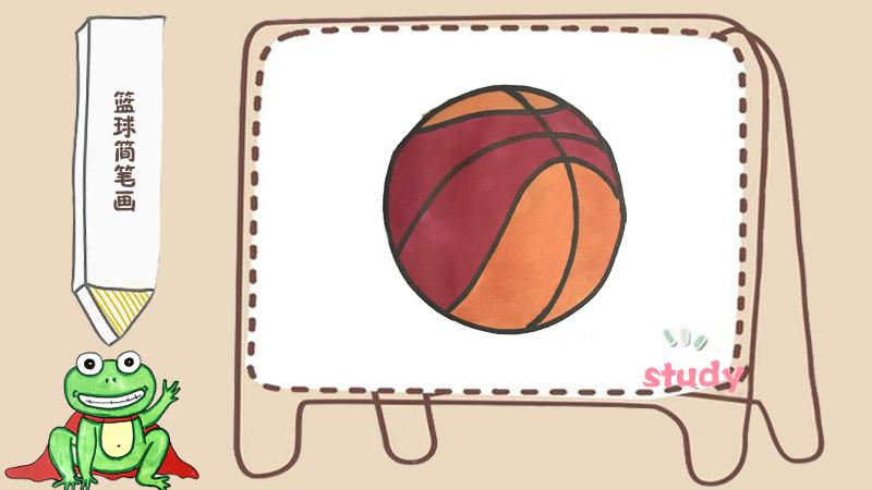 乒乓球简笔画