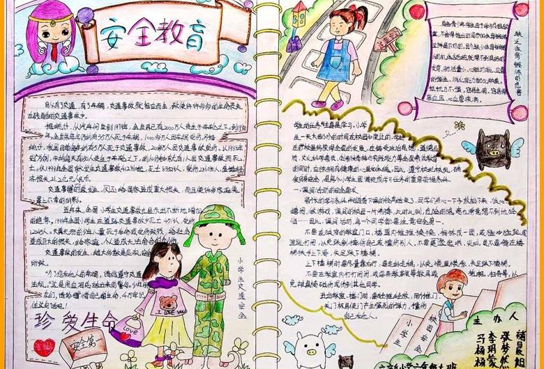 小学生手抄报内容,快乐的童年