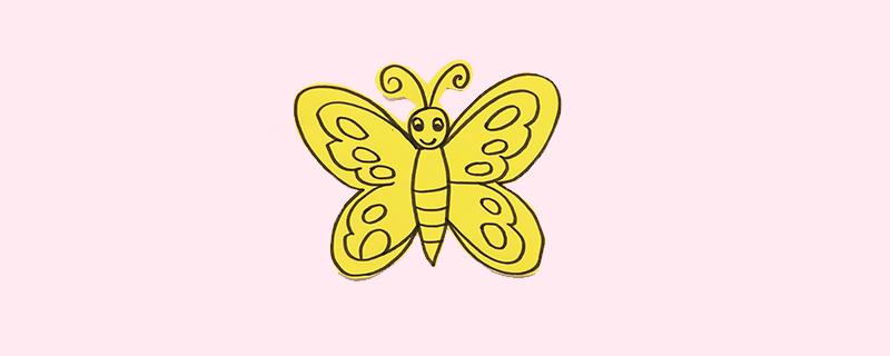 幼儿蝴蝶剪纸简单