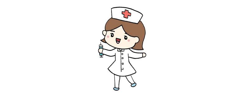 护士简笔画