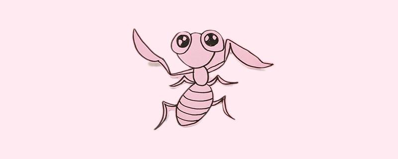 螳螂剪纸步骤
