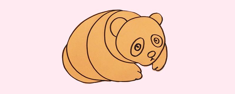 棕熊剪纸方法