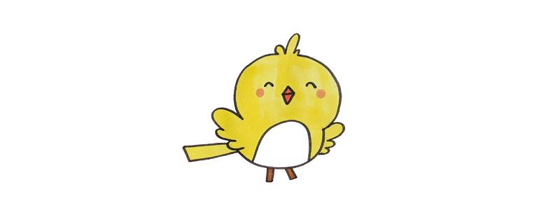 简笔画鸟怎么画