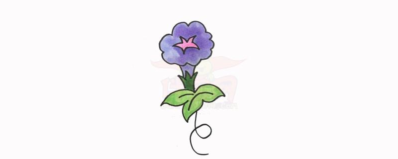 简笔画图片大全花草树木,1一3岁宝宝简笔画花草类