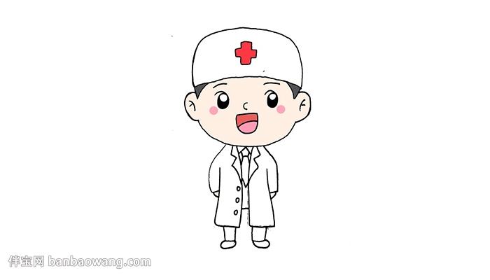 医护人员简笔画